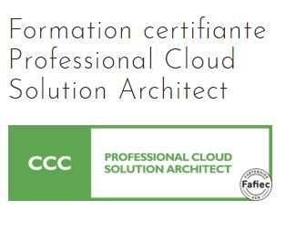 Formation certifiante Professional Cloud Solution Architect