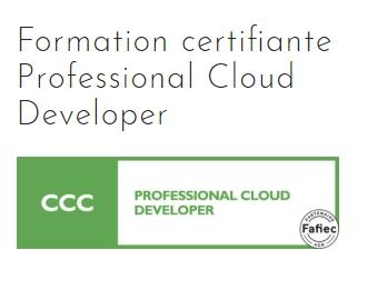 Formation certifiante Professional Cloud Developer