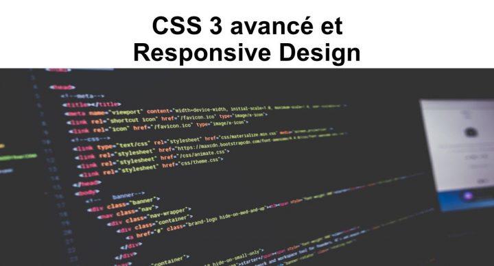 CSS 3 avancé et Responsive Design