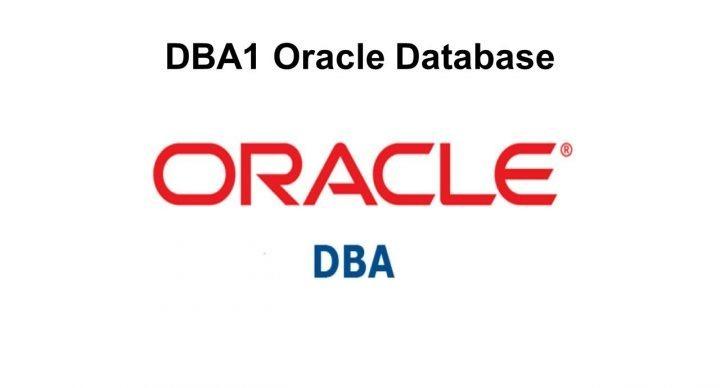 DBA1 Oracle Database 11g ou 12c