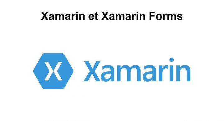 Xamarin et Xamarin Forms