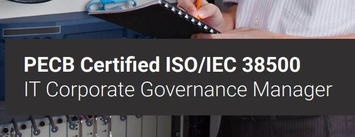PECB Certified ISO/IEC 38500 IT Corporate Governance Manager